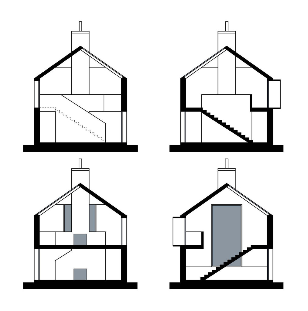 Modular house, Caithness, Scotland, UK