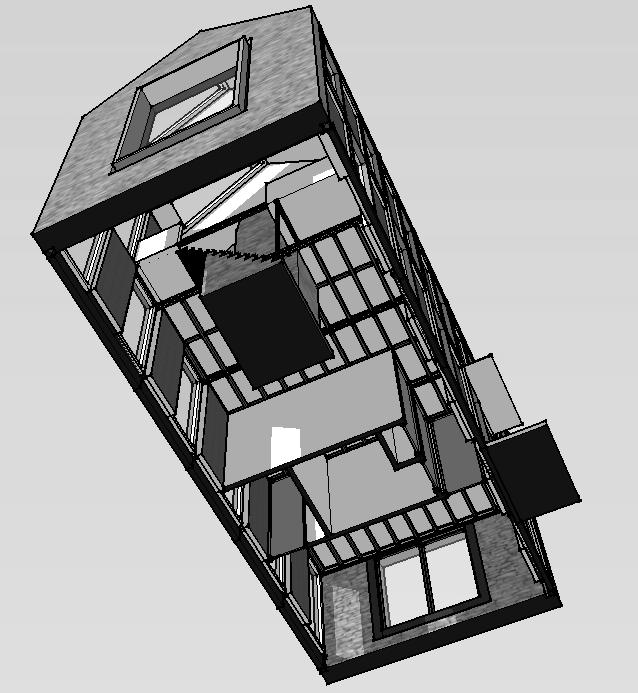 Modular house, Caithness, Scotland, UK